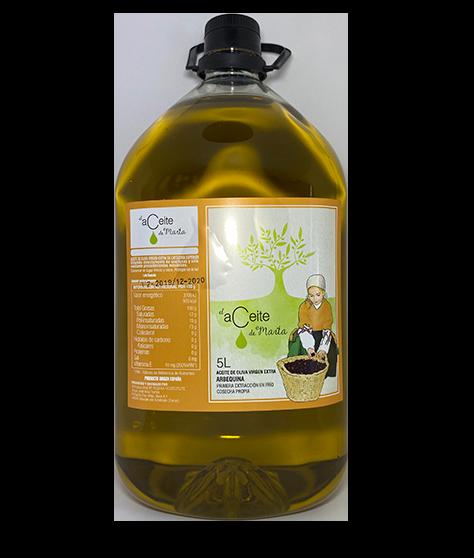 el aceite de marta